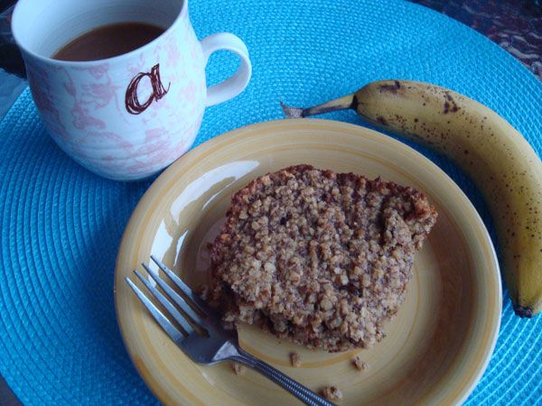 Baked Oatmeal.. Such a great idea from @Alysha from shesontherun.com!!