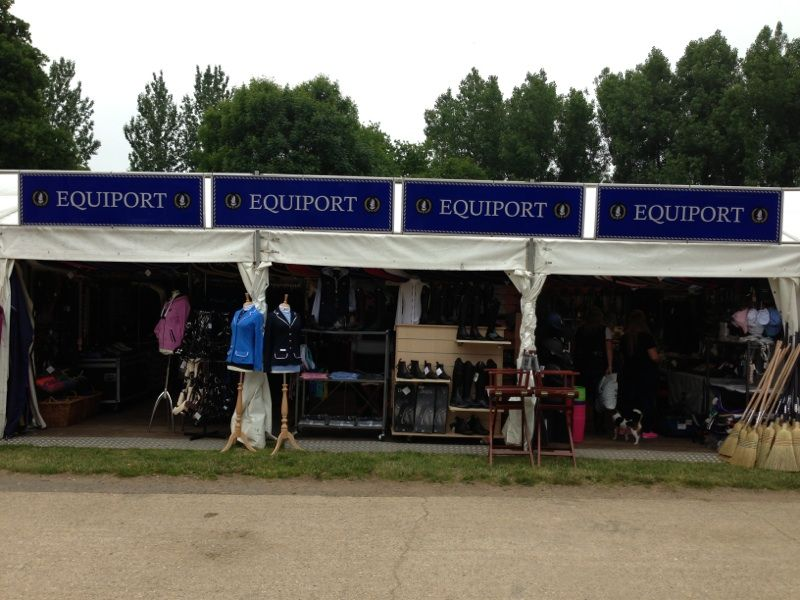 Trade Stands Hickstead : The equiport trade stand at hickstead its the place to be for the