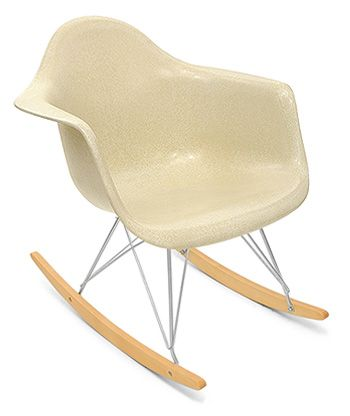 modernica fiberglass rocking chair... Will always remind me of my ...