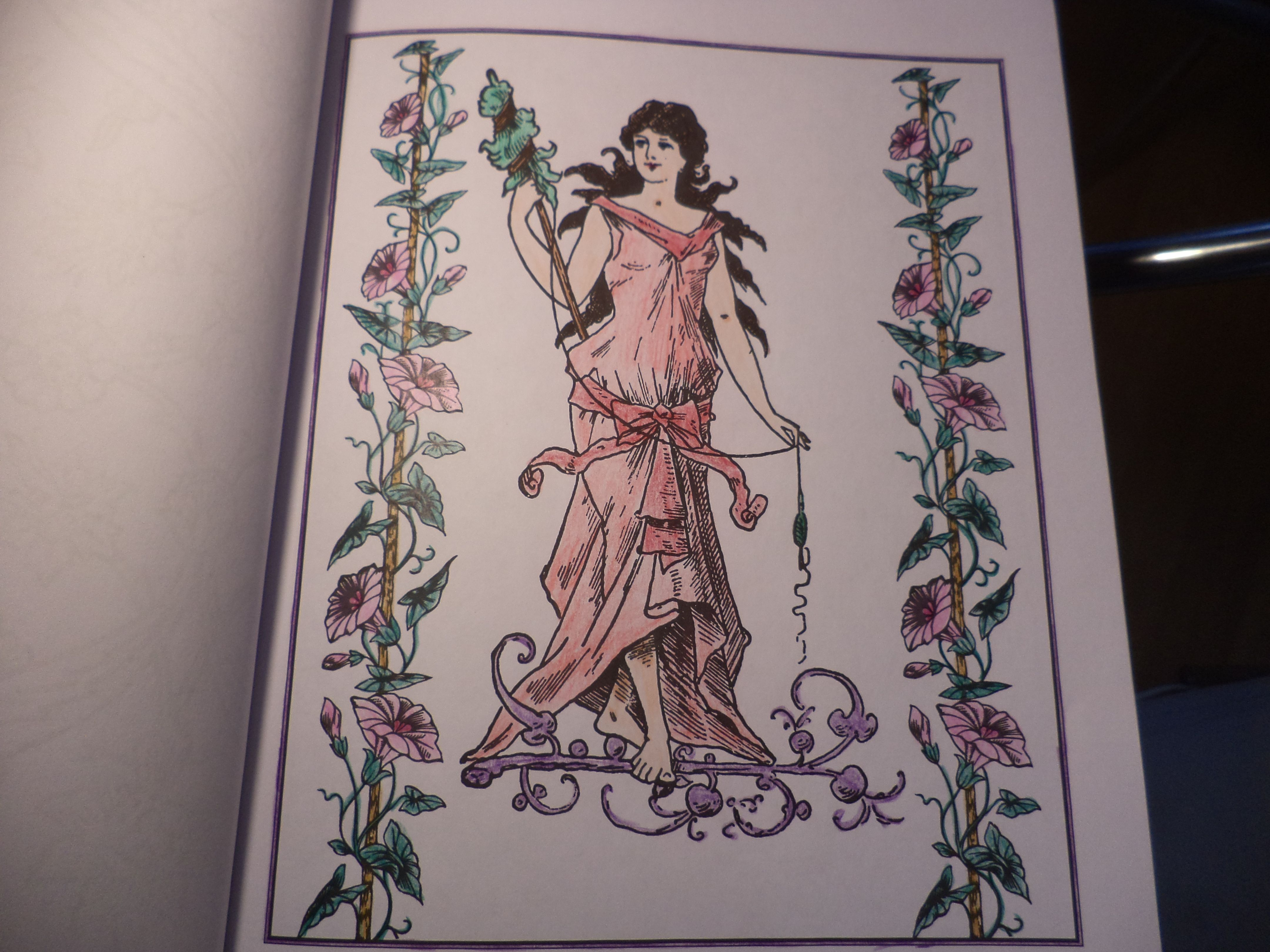 vintage coloriage créatif  Art, Humanoid sketch