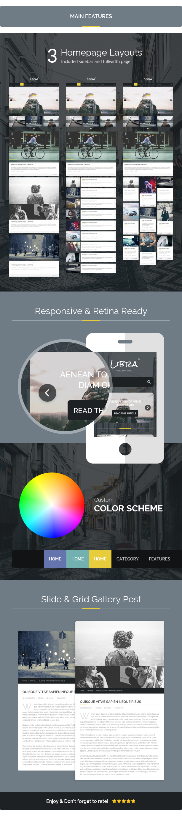 Libra Personal Blog Html Template Personal Nulled Http