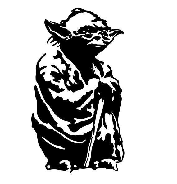 Star Wars Wall Decal Star Wars Yoda Wall Decal Star Wars Sticker Boys  Bedroom Teen College Dorm Kids