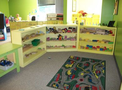Daycare Room Preschool Room Block Play Daycare Room