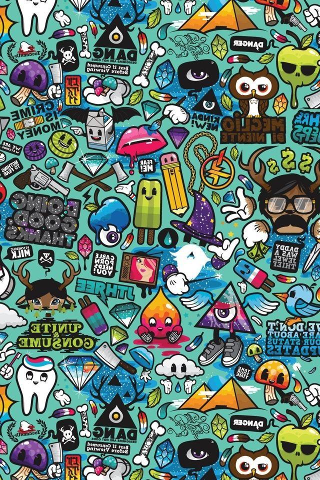 Pop Art Wallpaper Desktop Wallpaper Art Art Wallpaper Colorful cool wallpapers drawings