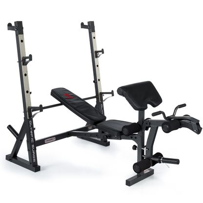 Buy The Marcy Md857 Diamond Elite Olympic Weight Bench With Squat