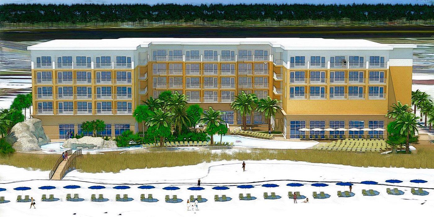 The Hilton Garden Inn Is A Brand New Hotel In Fort Walton Beach, Florida