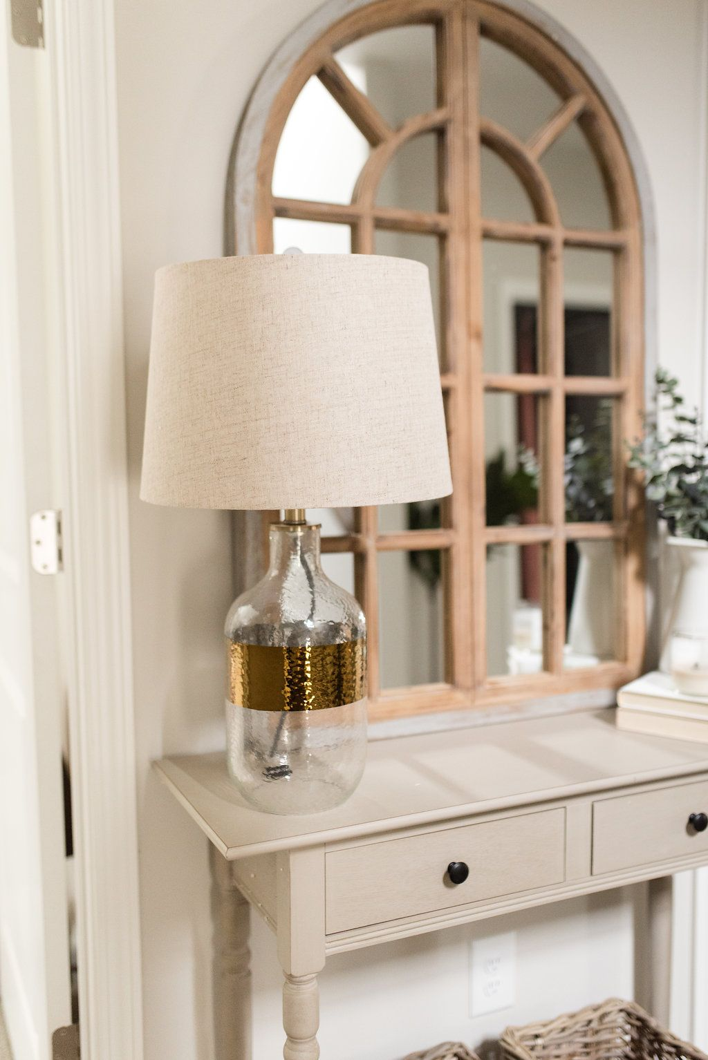 Hallway Refresh with Home Depot by Home, Home depot