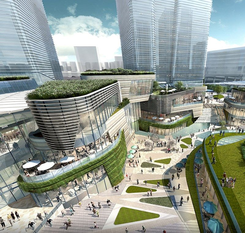 Benoy is excited to announce its appointment to the xuhui vanke center in shanghai 2 - Centre commercial rosa parks ...