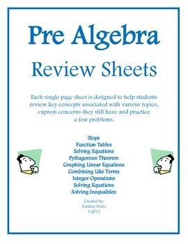 These Single Page Printables Are A Wonderful Way To Allow Students Review Few Key