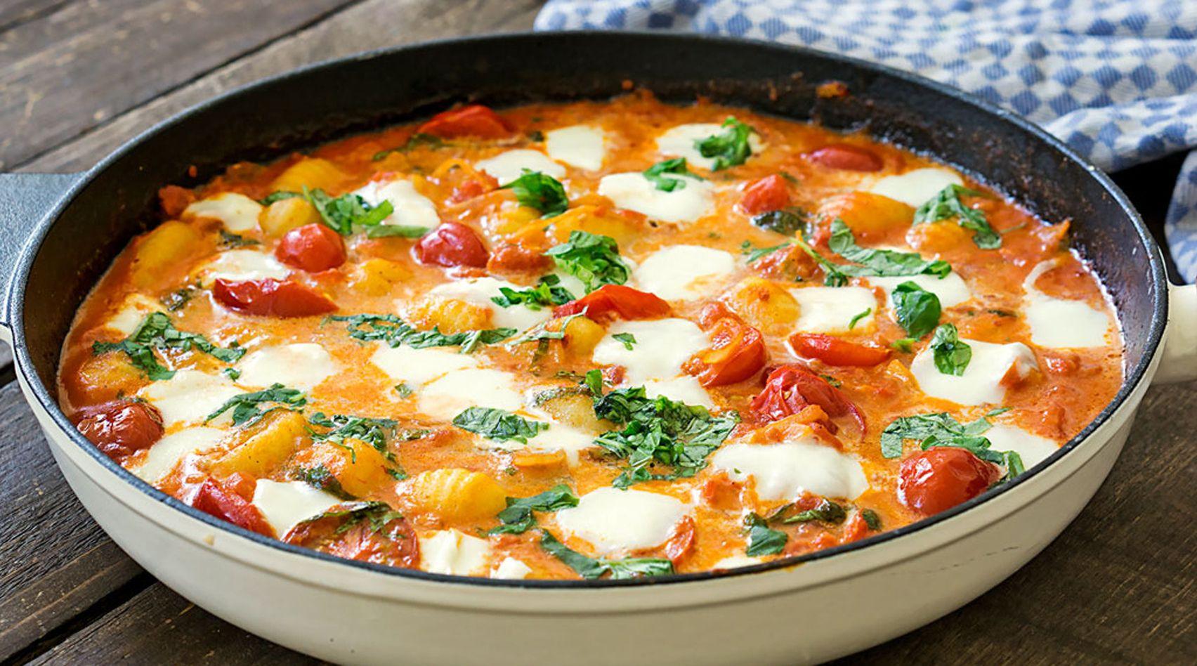 Photo of Recipe: Gnocchi with Tomato Sauce and Mozzarella | freundin.de