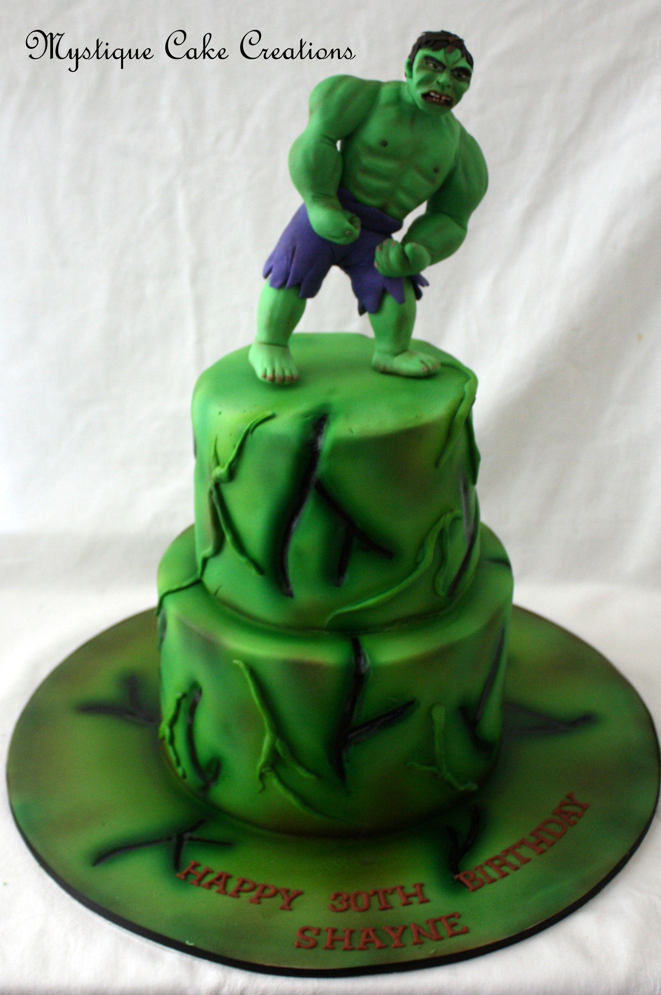 Hulk Smash Cake Made By Mystique Cake Creations Perth Wa Find Me