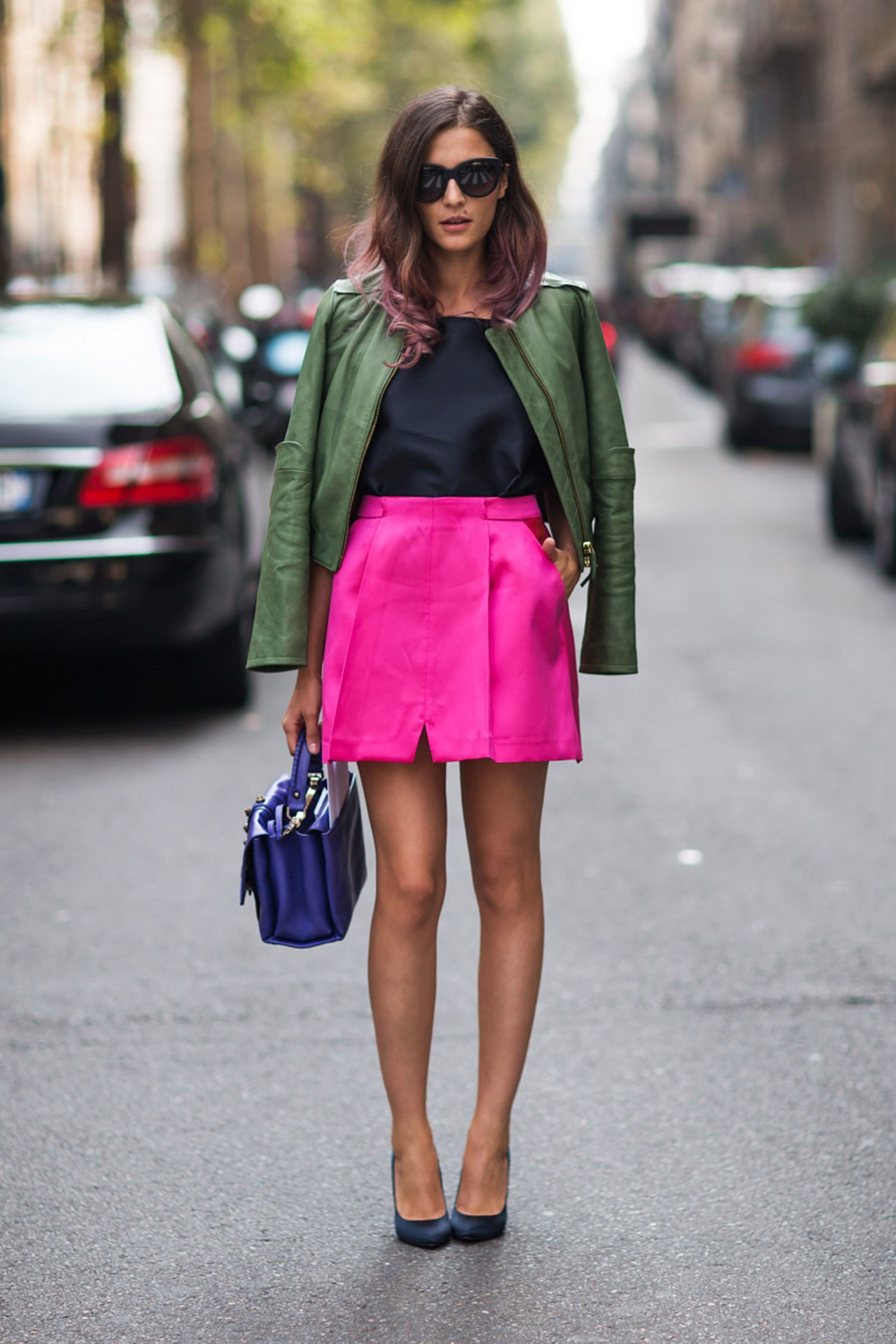 How to Wear Bright Color in The Fall and Winter: New Color Combinations to Try