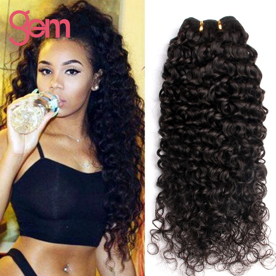 Brazilian kinky curly virgin hair 4 bundles deep wave brazilian price tracker and history of brazilian kinky curly virgin hair 4 bundles deep wave brazilian deep curly human hair weave natural black gem deep curly hair pmusecretfo Image collections