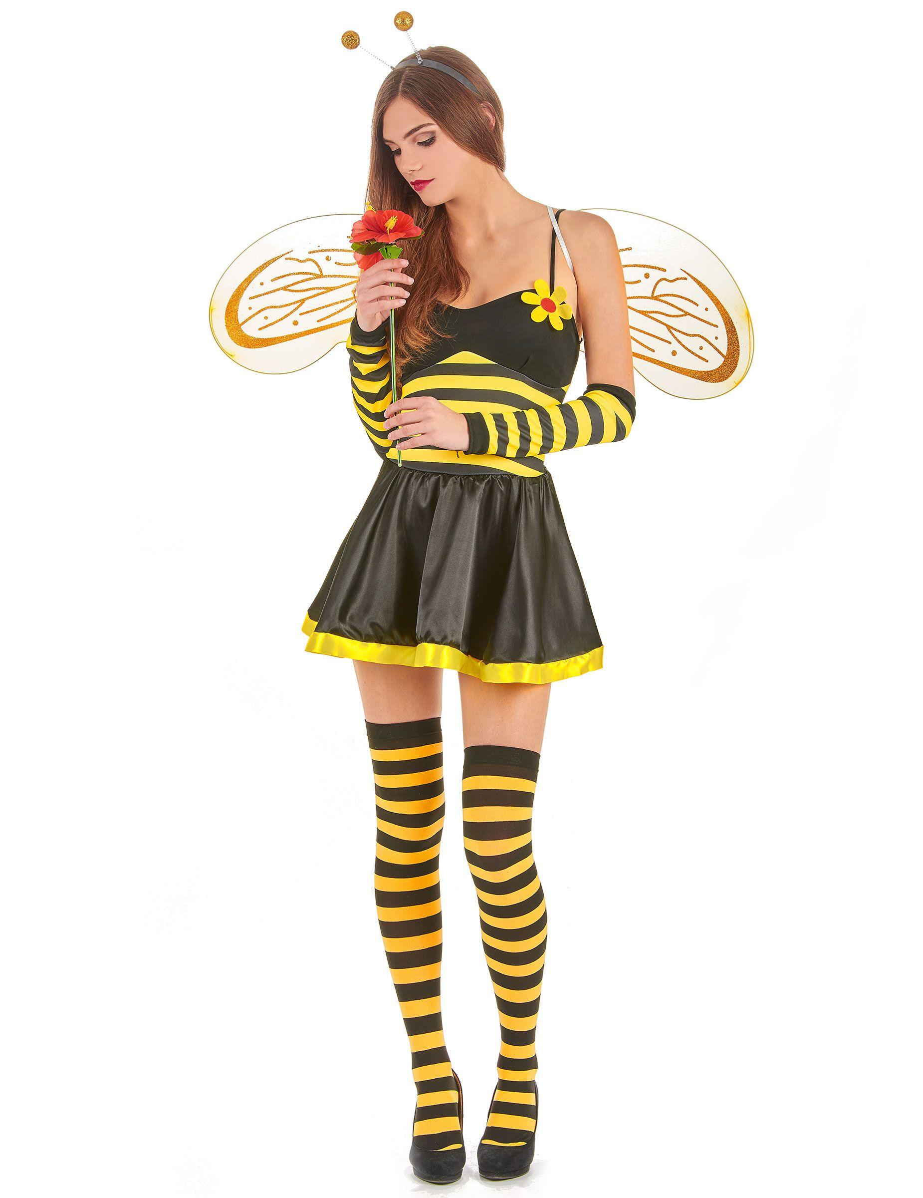 Biene Kostum Damenkostume Bienenkostum Bienen Damen Outfit Karneval