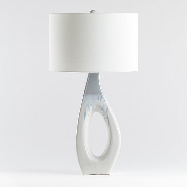 Neve Sculptural Table Lamp Reviews Crate And Barrel In 2020 Table Lamp Lamp Crate And Barrel