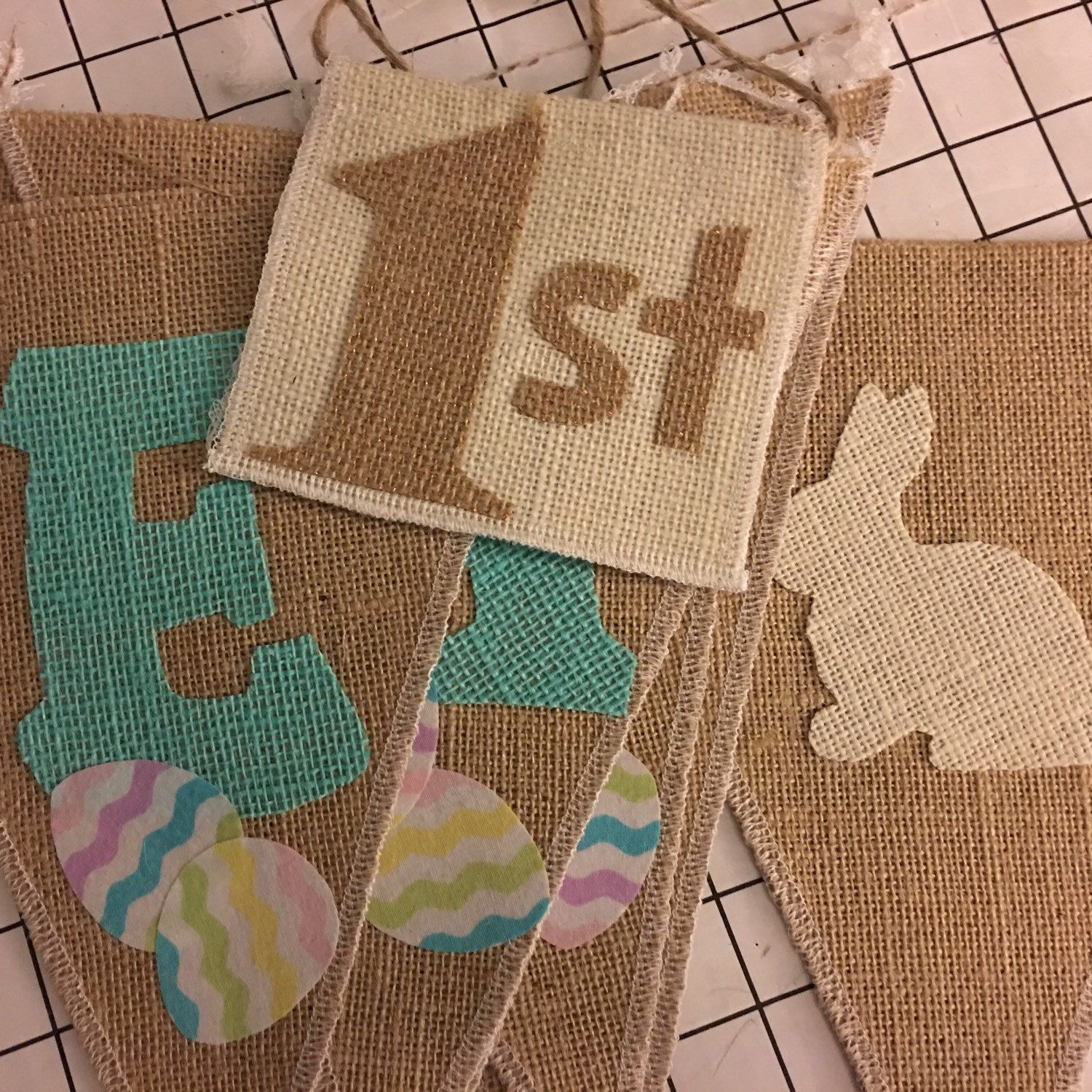 Working on a special request addition to our Easter banner  #babysfirstEaster #1st #1stEaster