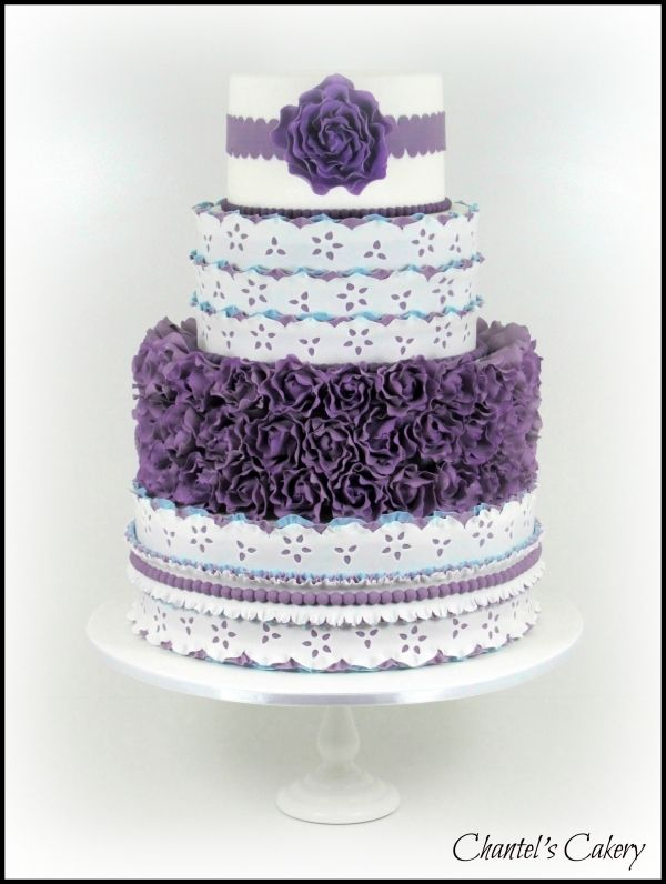 wedding cakes oxford al purple and blue wedding cake cakes beautiful cakes for 25214