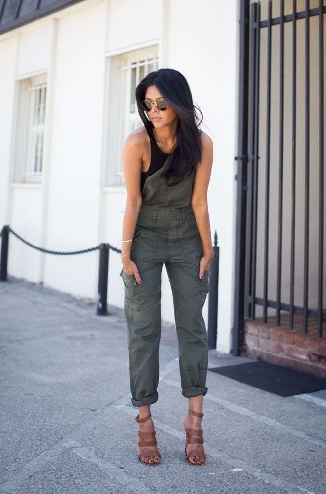 Walk in Wonderland: CARGO OVERALLS