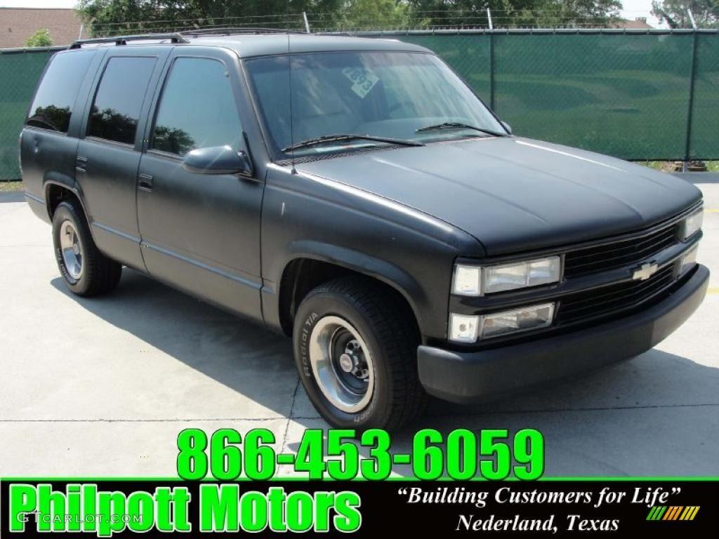Tahoe 1995 chevy tahoe 4 door : 1995 chevy tahoe | 1995 Chevrolet Tahoe LS - Onyx Black Color ...