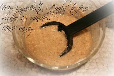 E l l e S e e s: Beauty DIY: Soothing Oatmeal Face Mask