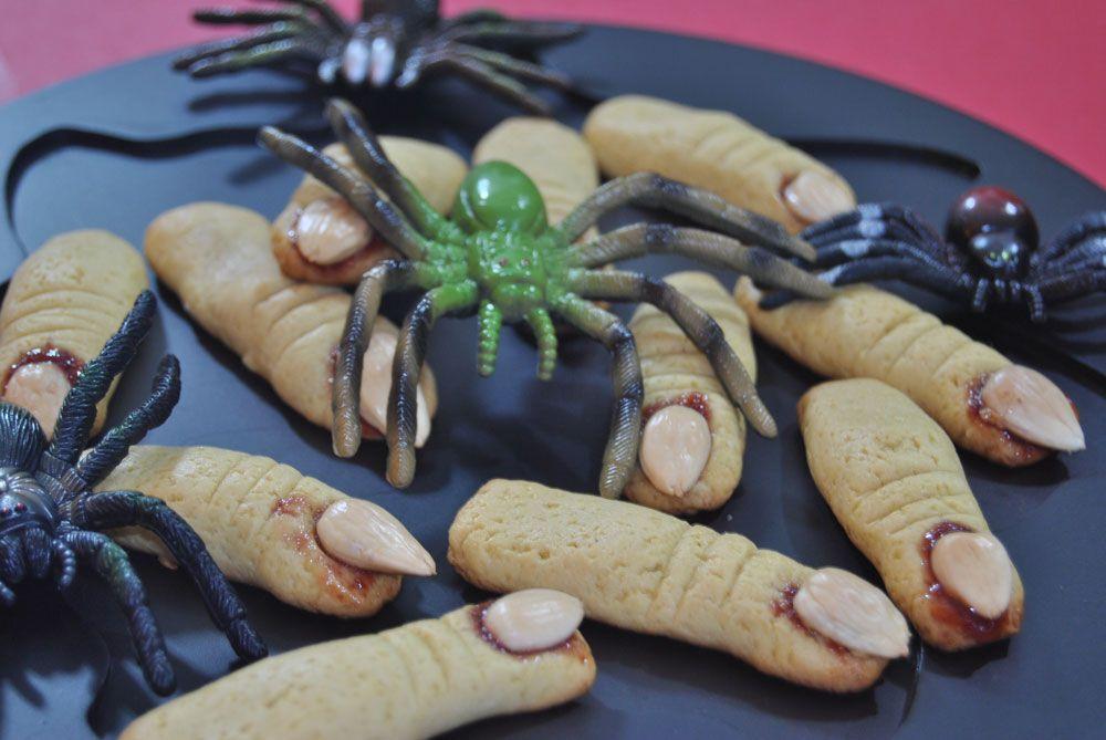 Pão e Beldroegas: Dedos de Bruxa - Halloween