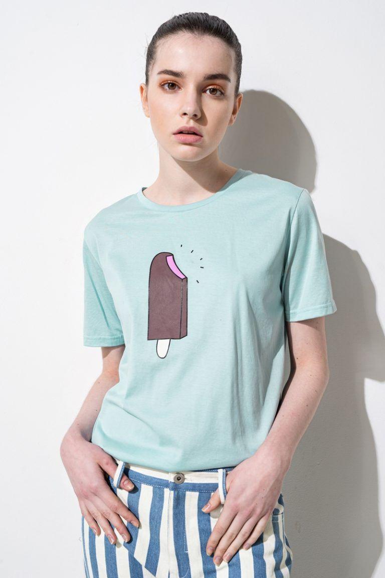 This ice cream print t-shirt is SO cute.