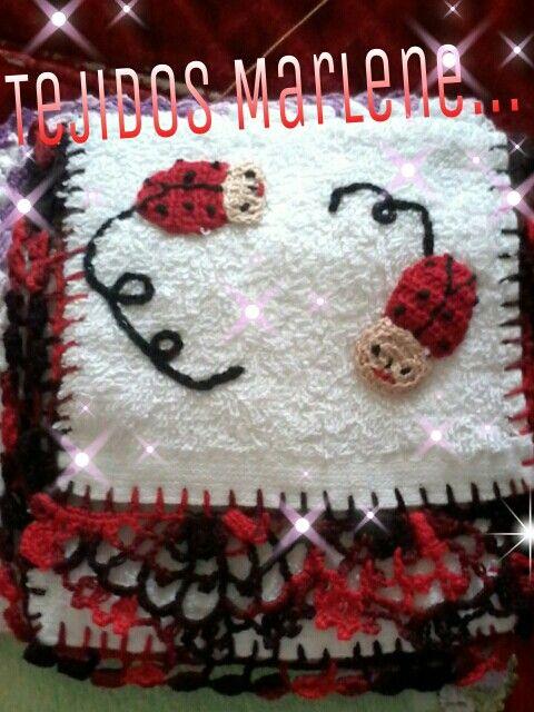 Toallas para beb s decoradas patrones pinterest - Tejidos y novedades paredes ...