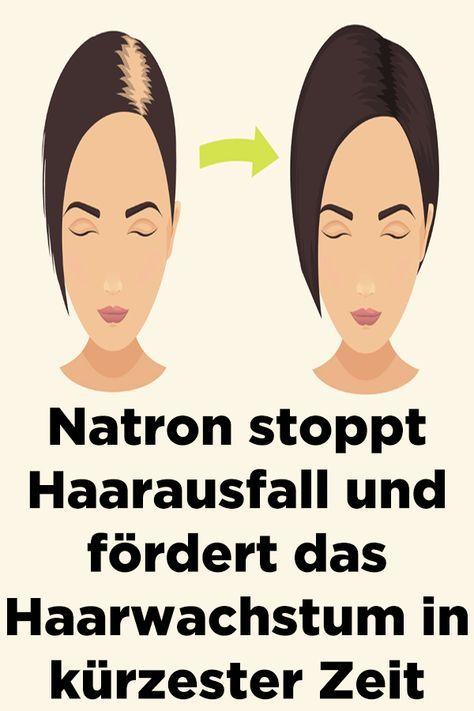 Natron stoppt Haarausfall und fördert das Haarwachstum in kürzester Zeit #hairhealth