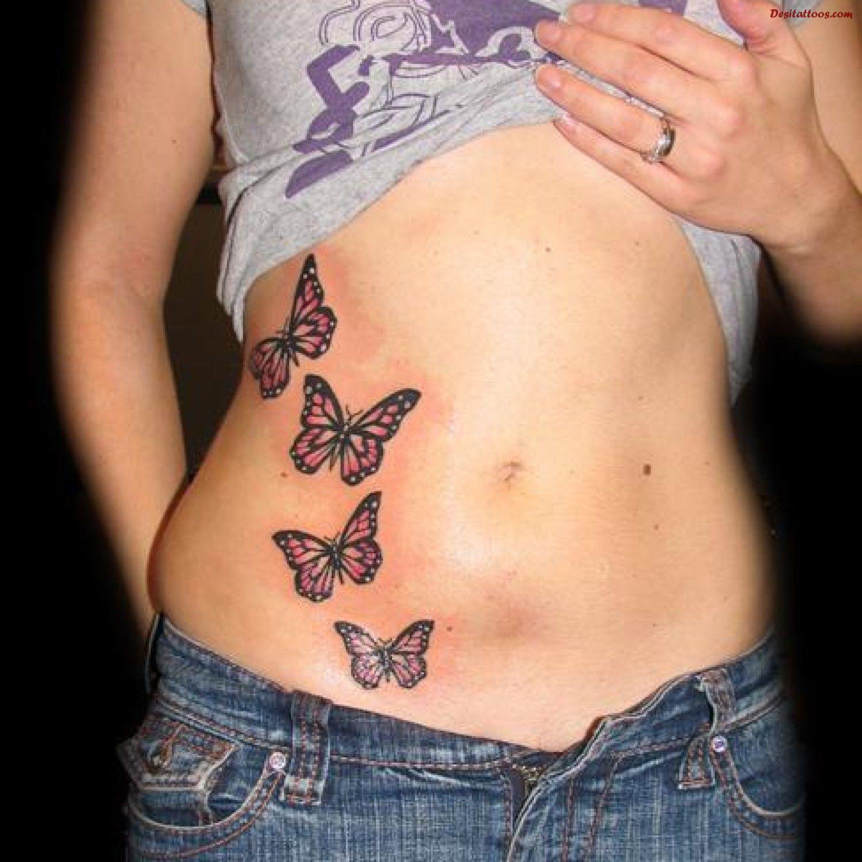 Newtattoo Us Tattoo Designs Part 62 Stomach Tattoos Women Butterfly Tattoo Stomach Tattoos