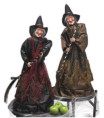 Halloween 170094 Set Of 2 Halloween Light Up Shrieking Cackling
