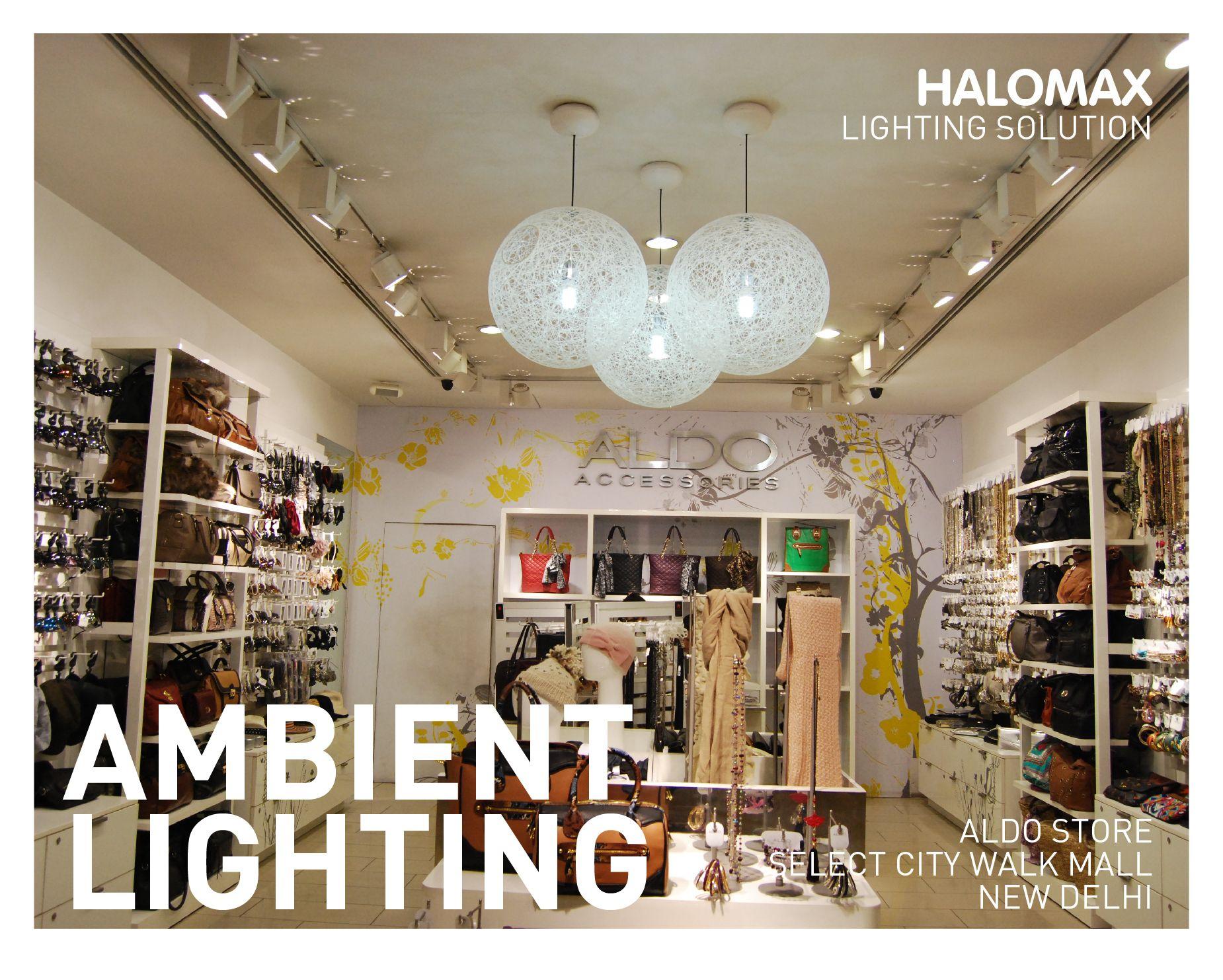 successful retail lighting at aldo store select city walk new