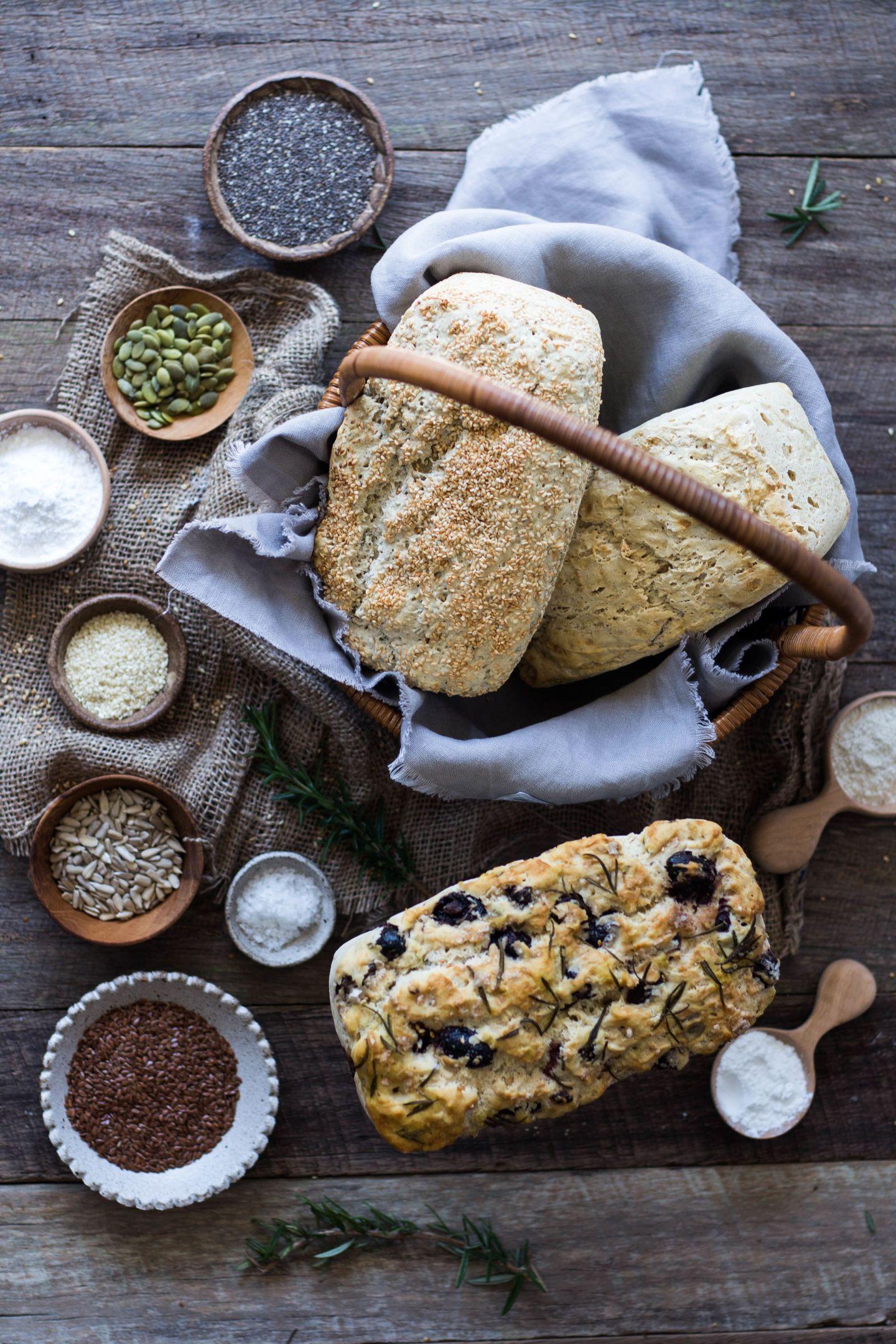 Perfect Gluten Free Bread Recipe 3 Ways Helen Tzouganatos Gluten Free Recipes Recept Eda Hlebnye Vitriny Pekarni