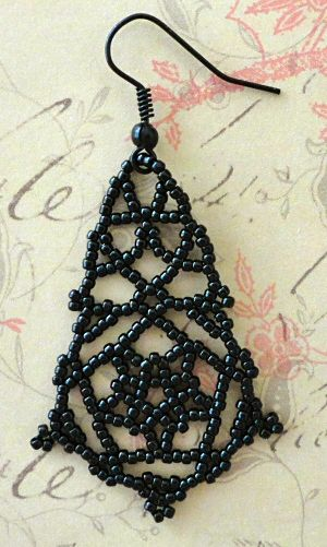 Linda's Crafty Inspirations: More Pearly Lace Earring samples
