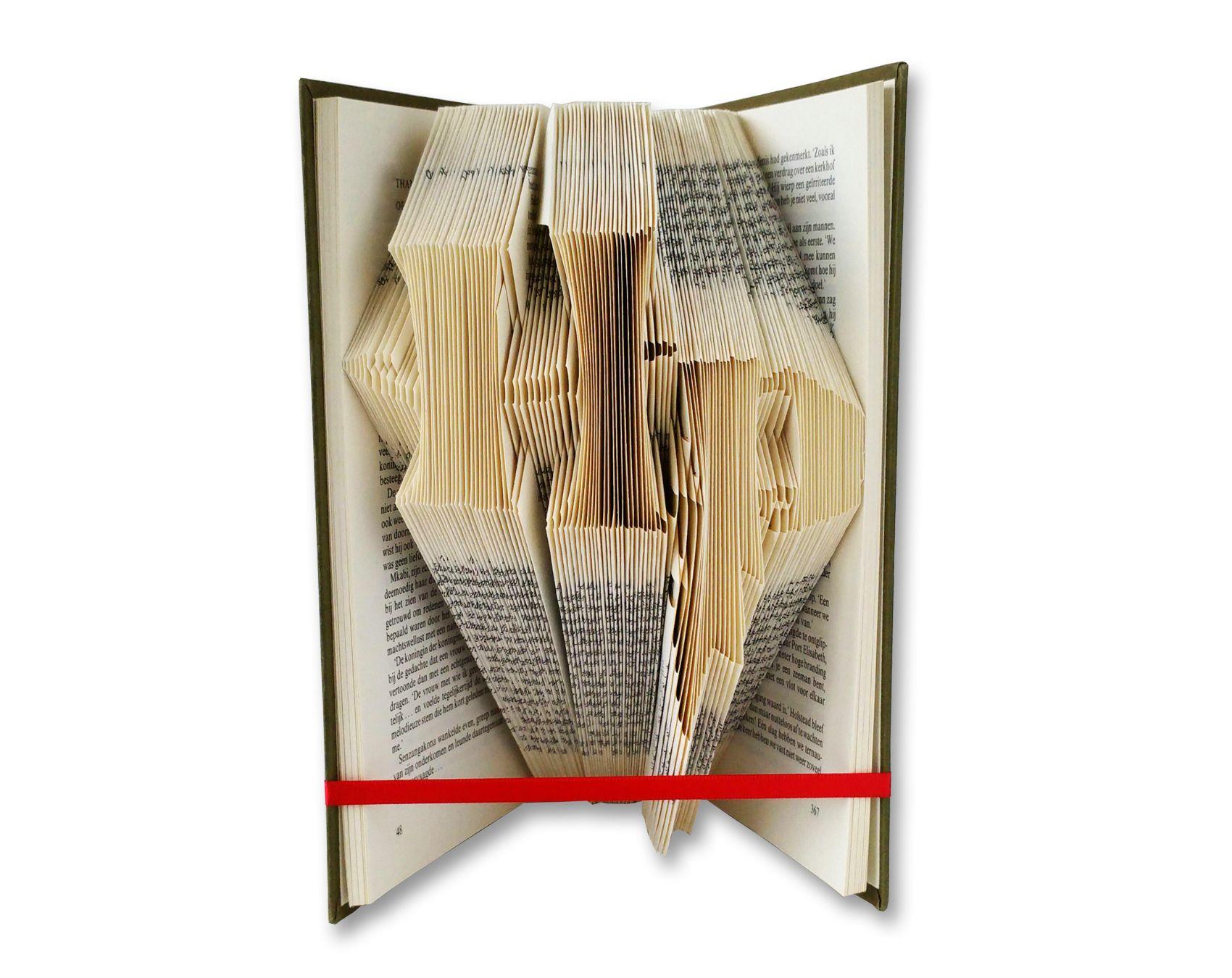 Folded Book Art Pattern Harry Potter Logo Folded Book Art Patterns Folded Book Art Pattern Folded Book Art Book Folding Patterns Free Templates