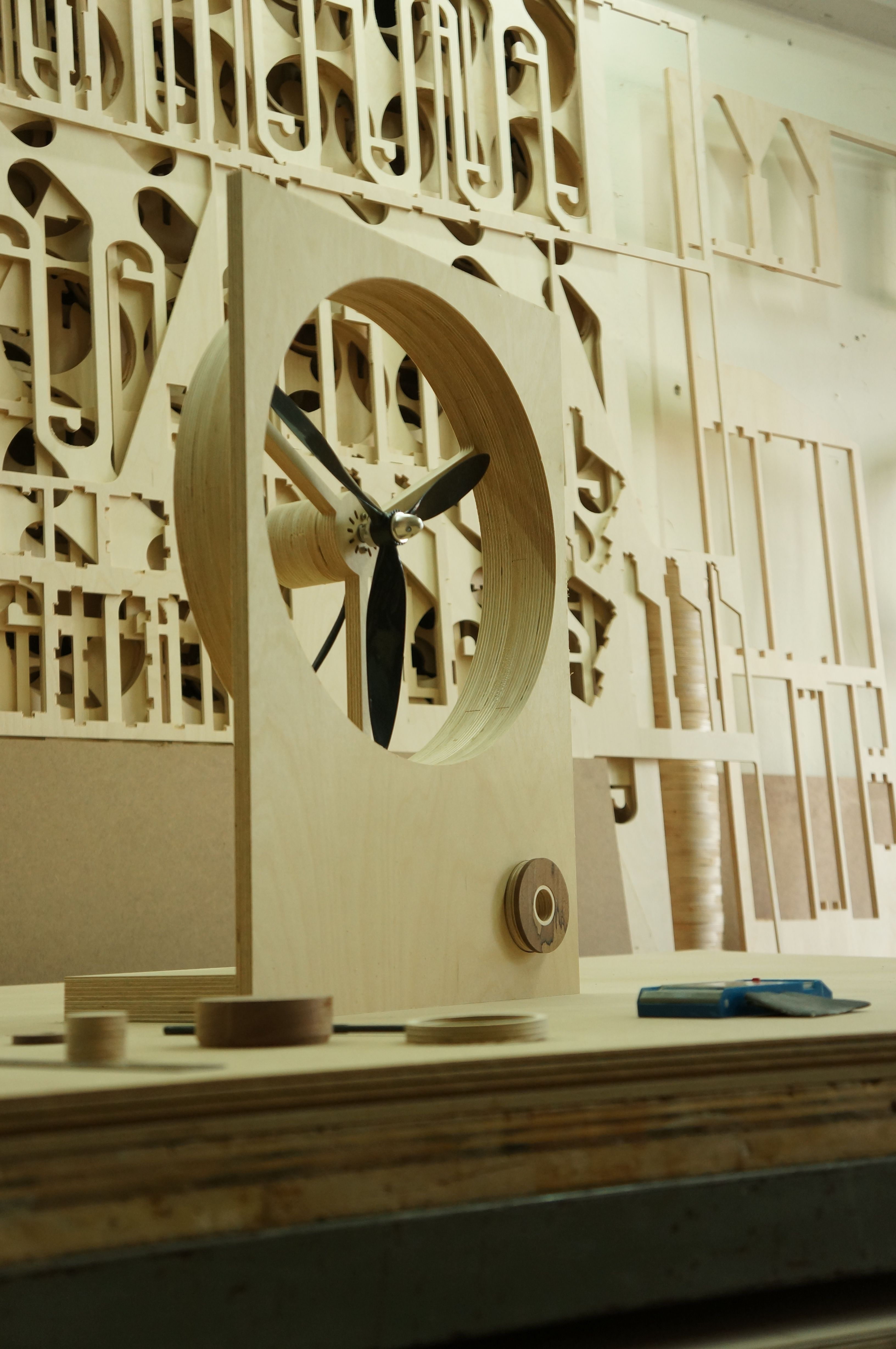 Wooden Electric Fan 4th Wood Fan Furniture And Object Pinterest Cnc