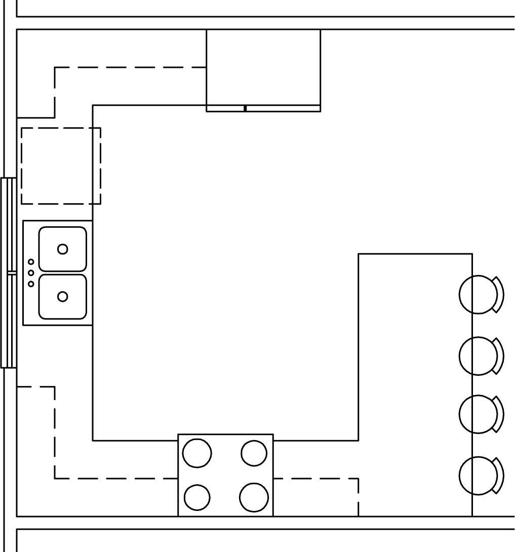 Kitchen Trends Common Kitchen Configurations Kitchen Layout Plans Kitchen Layout U Shaped Square Kitchen