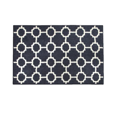 Kole Fret 30x46 Large Accent Rug Shopko 22 49 With Images