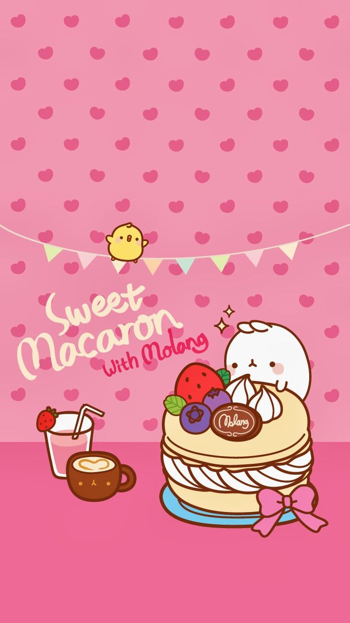 Ley worldkawaii wallpapers para tu celular molang - Kawaii anime iphone wallpaper ...