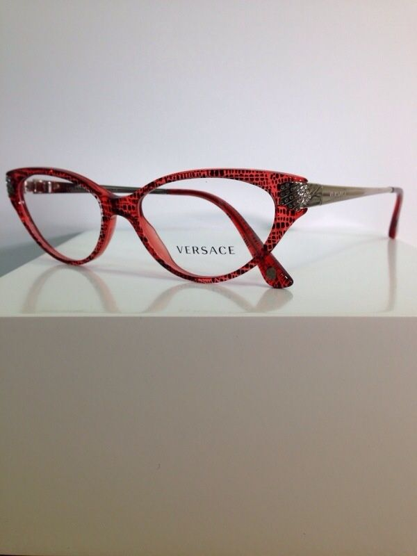 1bdd4fc3e2 New and authentic Versace Eyewear frames! Red front with silver temples.  Women s