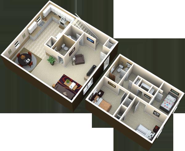 3 bedroom | 1.5 bath | 1250 sq ft rent: details: three bedroom