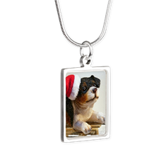 Puppy on a Sled Necklaces