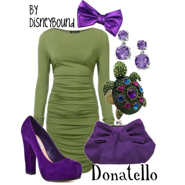 TMNT ---okay these disneybound outfits are just killing me. SO CLEVER and creative!!!!