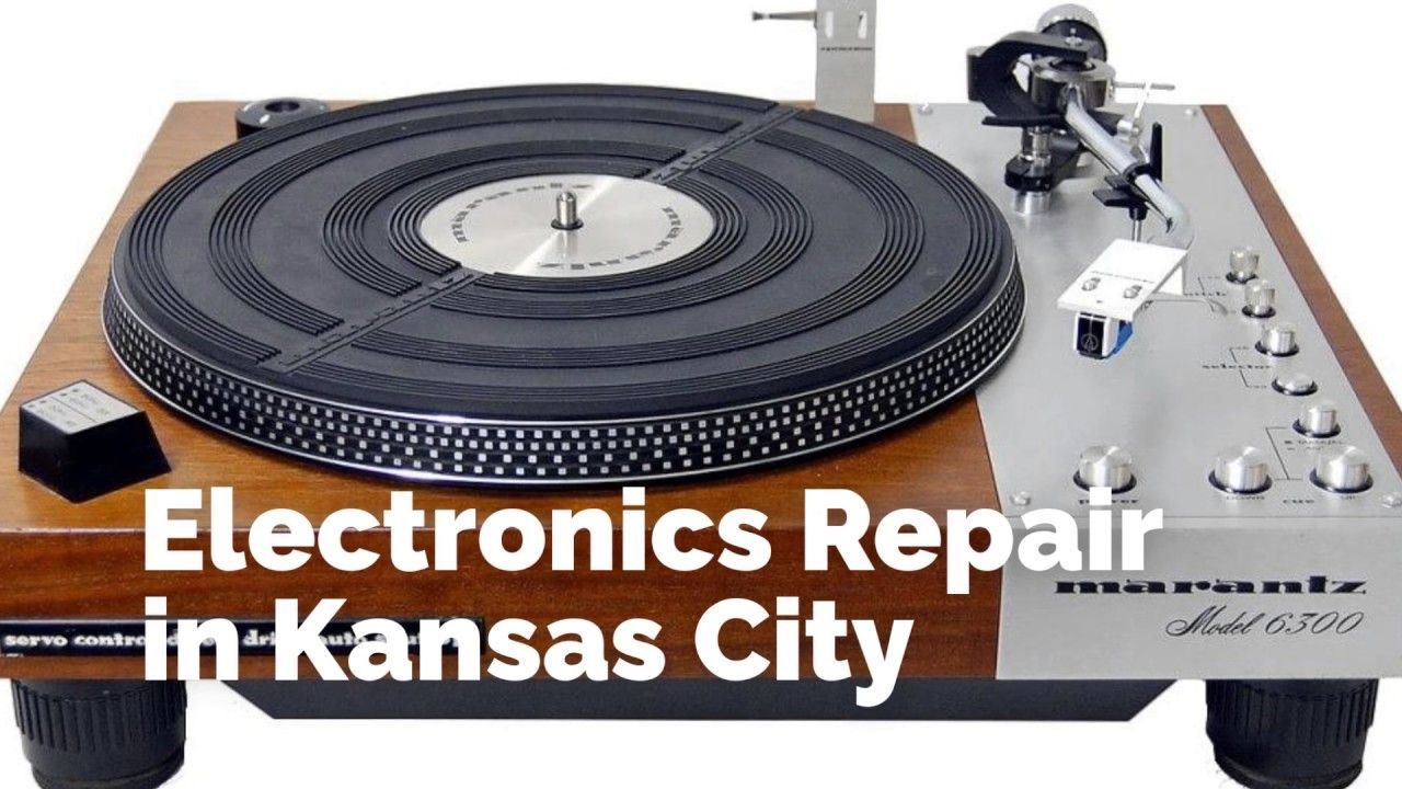 Vintage Turntable & Stereo: Record Player Repair in Kansas