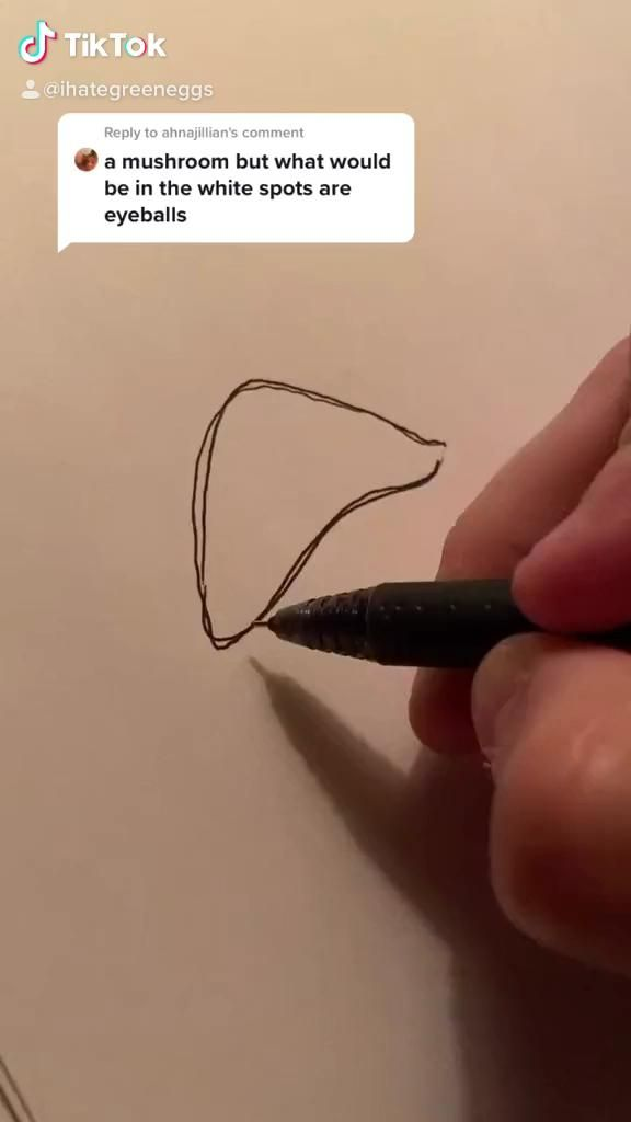 How To Draw A Mushroom Art Artist Video Line Art Drawings Psychedelic Art Drawings