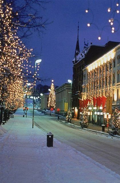 Oslo, the right place for Christmas, Norway