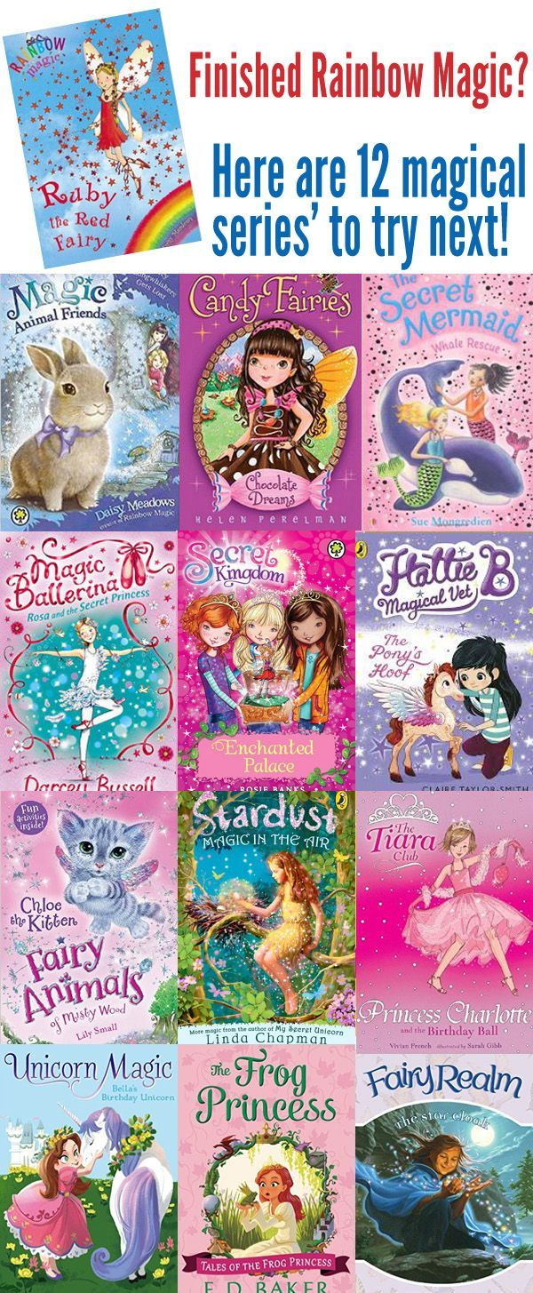 12 Magical Chapter Book Series For Kids Who Love Rainbow Magic Rainbow Magic Books Rainbow Magic Chapter Books