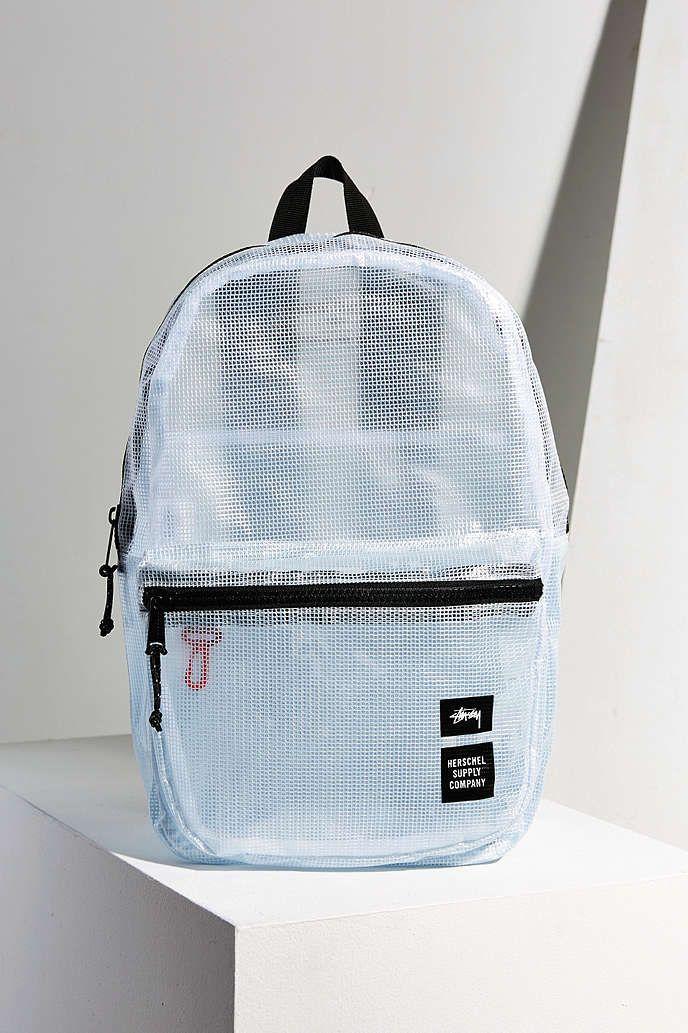 Stussy Clear Tarpaulin Lawson Backpack - Urban Outfitters  bd52b77793c5f
