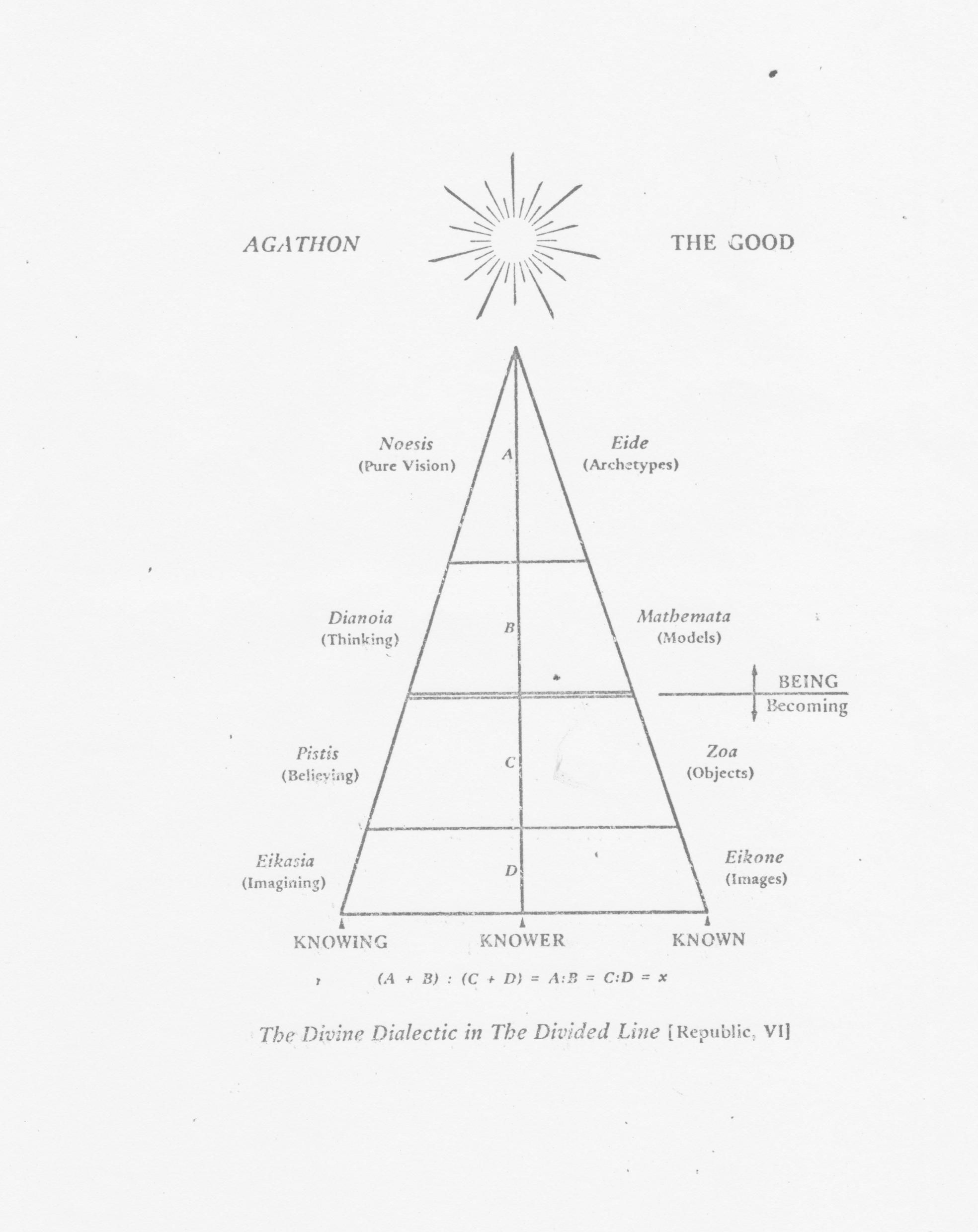 hight resolution of plato divided line google search