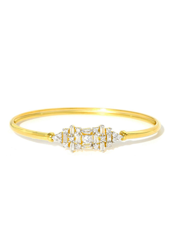 Zaveri pearls goldtoned cz stonestudded bracelet women jewellery
