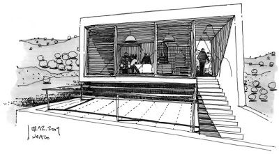 DIBUJOS DE ARQUITECTO - ARCHITECT DRAWINGS